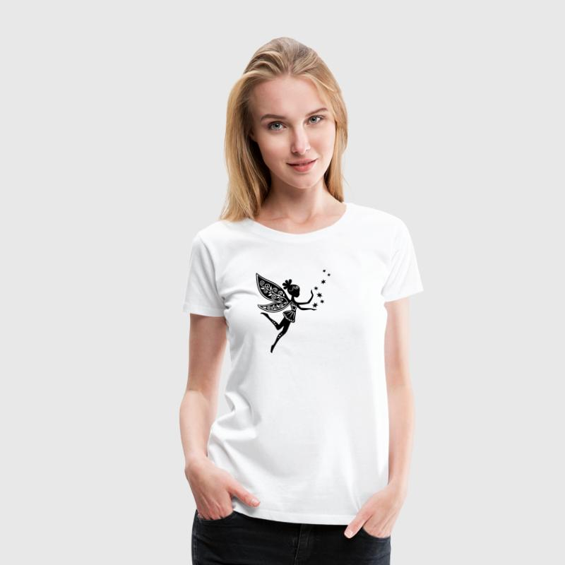 fairy, pixie, Elf, star, magic, witchcraft, summer T-Shirts - Women's Premium T-Shirt