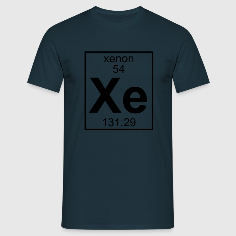 Xenon (Xe) (element 54) - Men's T-Shirt