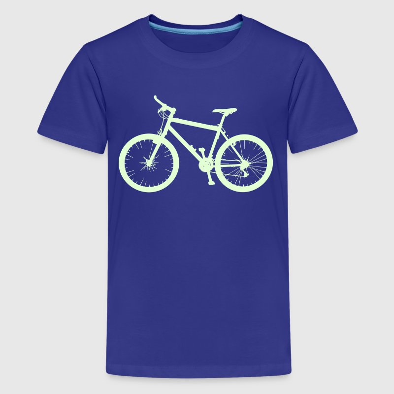 Cycle Bike Rad Fahrrad Montainbike Shirts - Teenage Premium T-Shirt