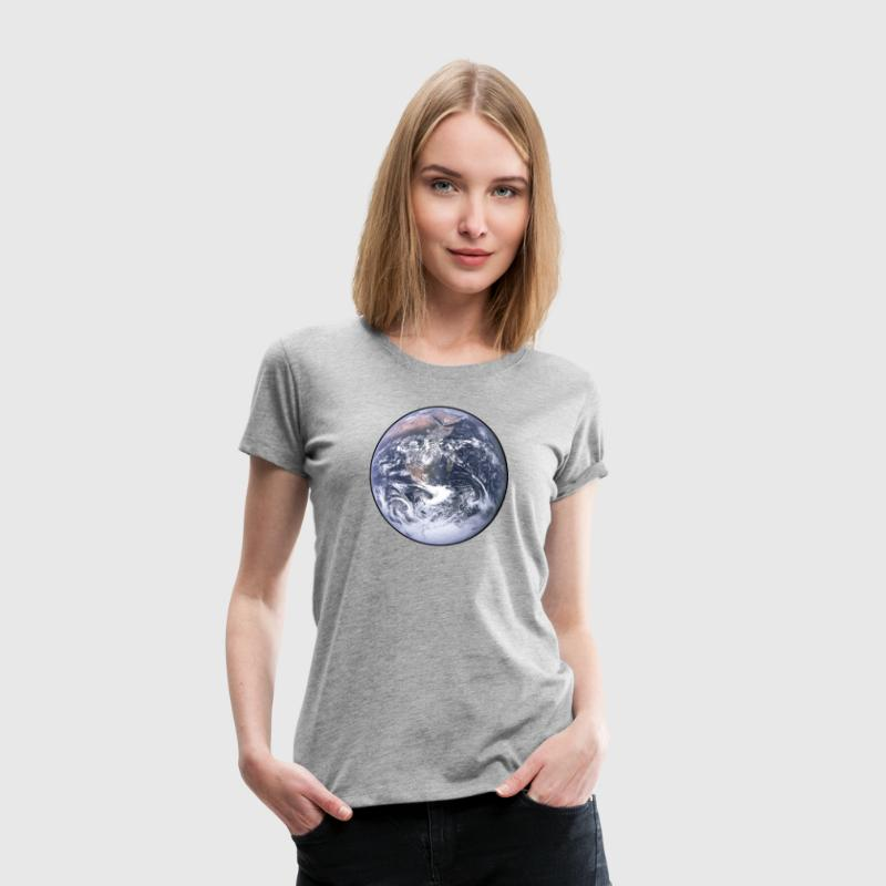 Earth - Planet - The World - Mother Earth T-Shirts - Women's Premium T-Shirt