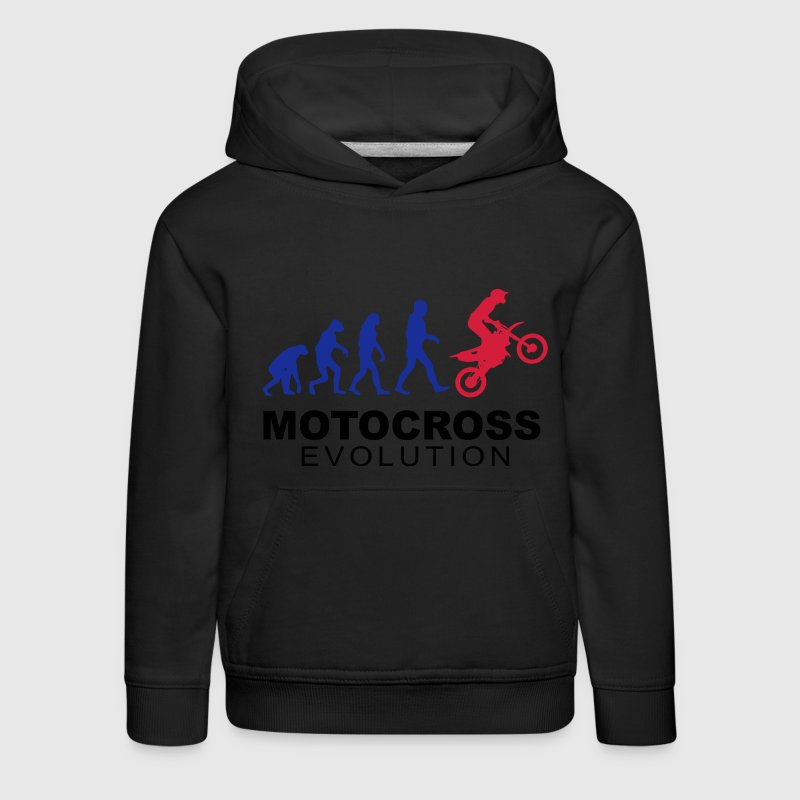 Motocross Evolution slick Hoodies - Kids' Premium Hoodie