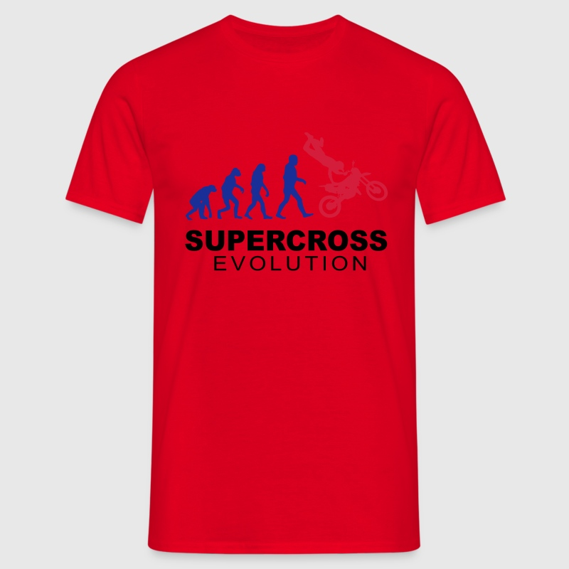 Supercross Evolution Tee shirts - T-shirt Homme