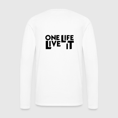 One Life Live It Mug - Men's Premium Longsleeve Shirt