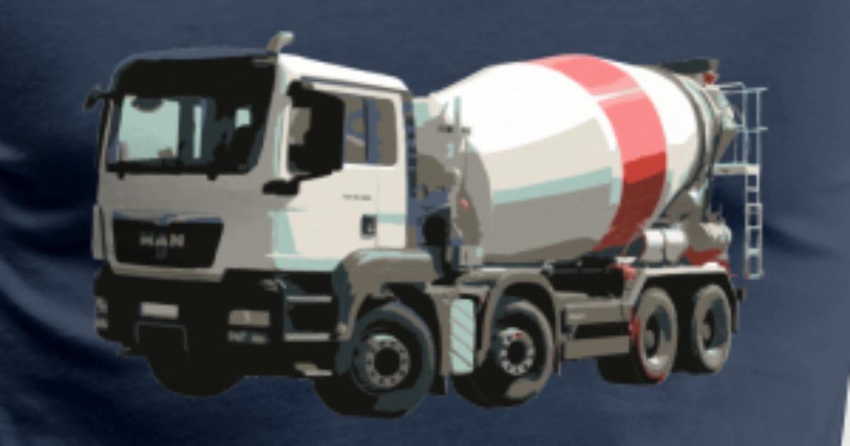 Build Your Own Cement Mixer ~ Concrete mixers t shirt spreadshirt