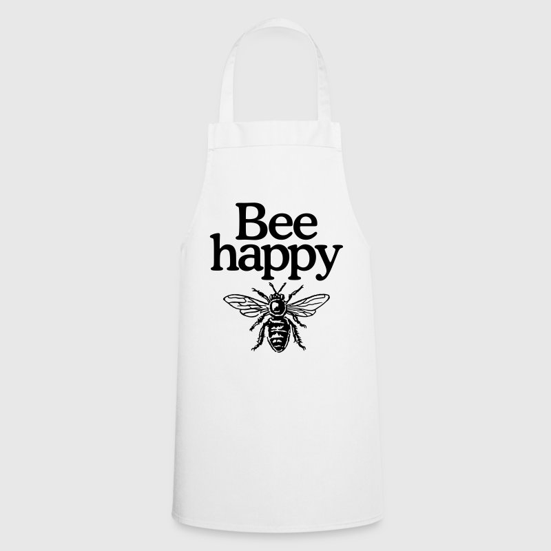Bee happy Apron - Cooking Apron