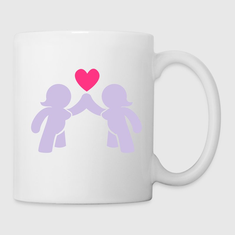 naked Woman and women love lesbian  Bottles & Mugs - Mug