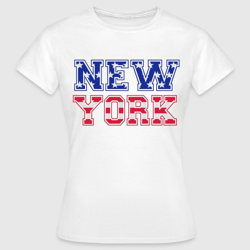 T-shirt New-York - T-shirt Femme