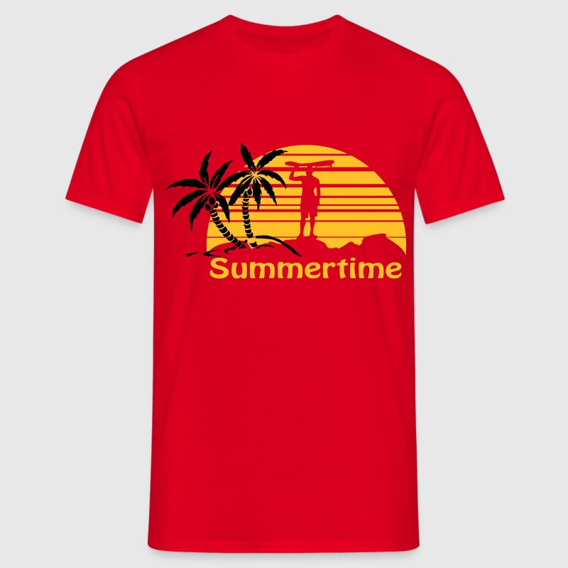 Summertime T-Shirts - Men's T-Shirt