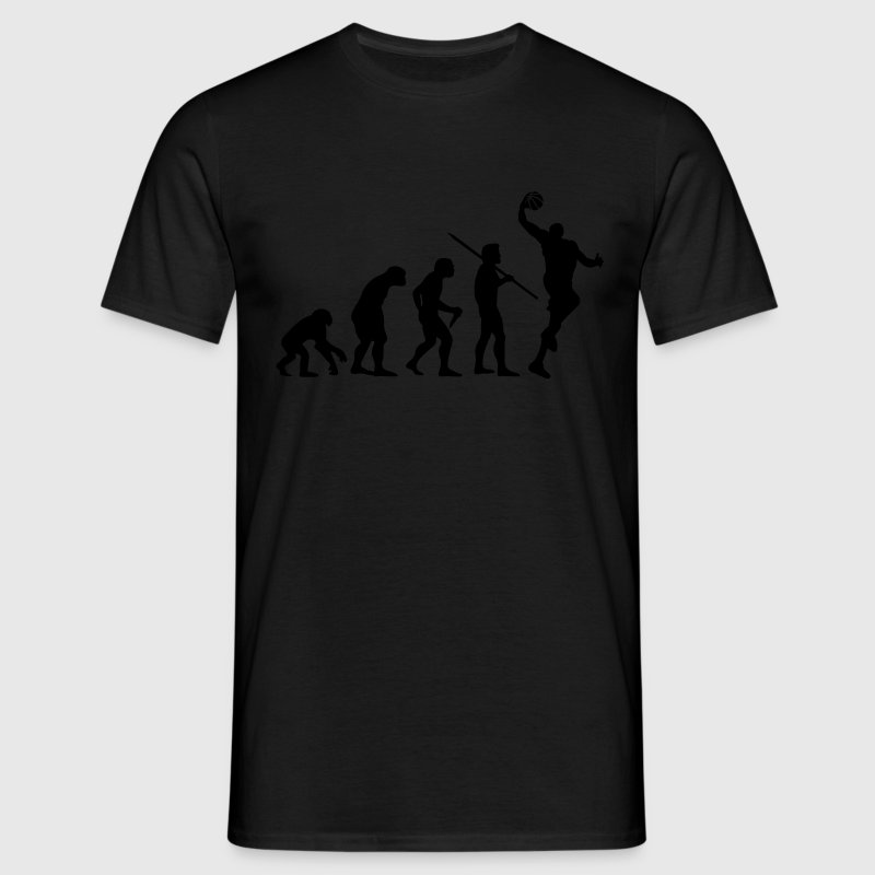 Men's Evolution of Man - Basketball T-Shirt - Men's T-Shirt