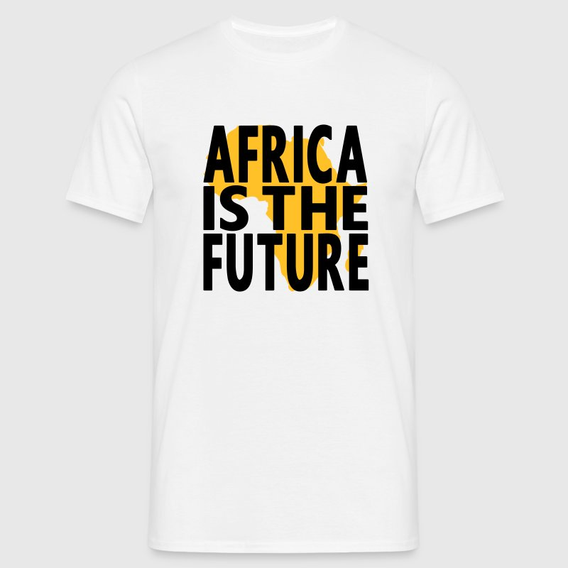 Africa is the future, Vektormotiv, 2farbig - Männer T-Shirt
