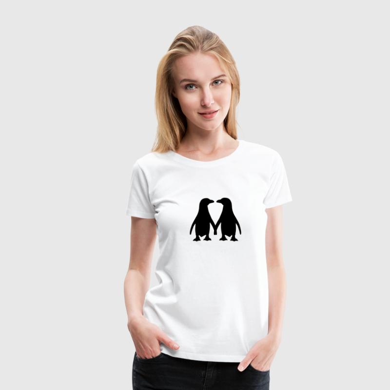 Pinguin T-Shirts - Frauen Premium T-Shirt