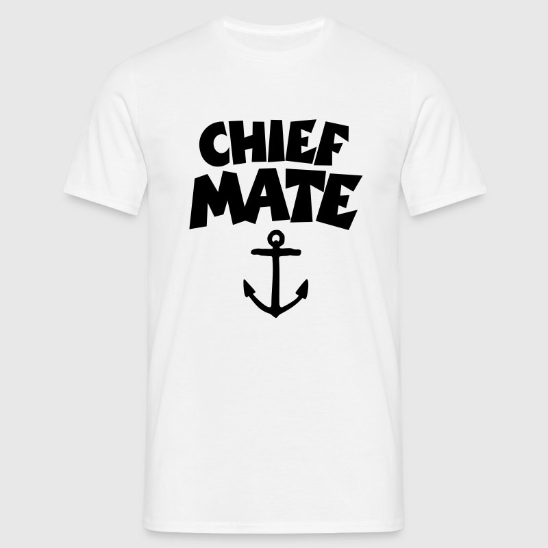 Chief Mate Anchor T-Shirts - Men's T-Shirt