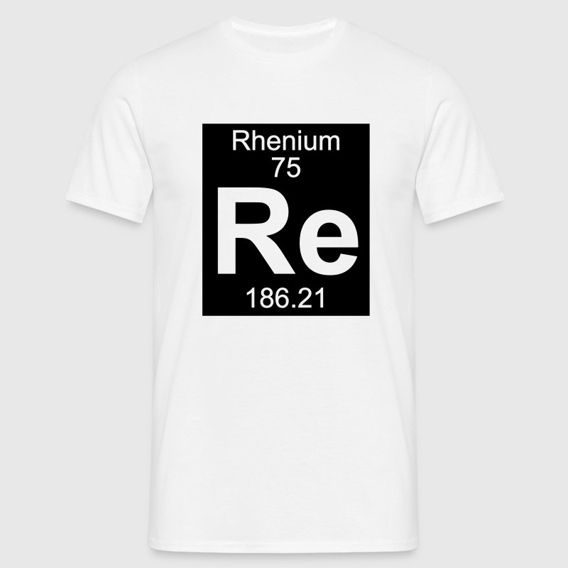 Rhenium (Re) (element 75) - Men's T-Shirt