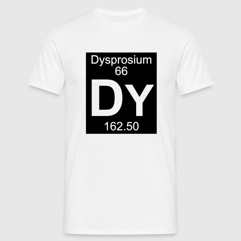Dysprosium (Dy) (element 66) - Men's T-Shirt