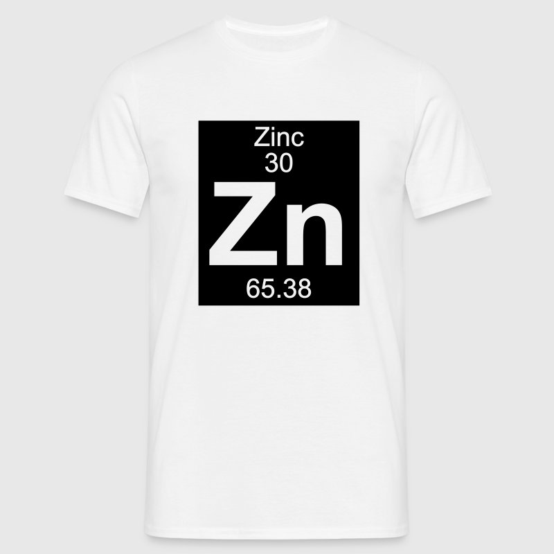 Zinc (Zn) (element 30) - Men's T-Shirt