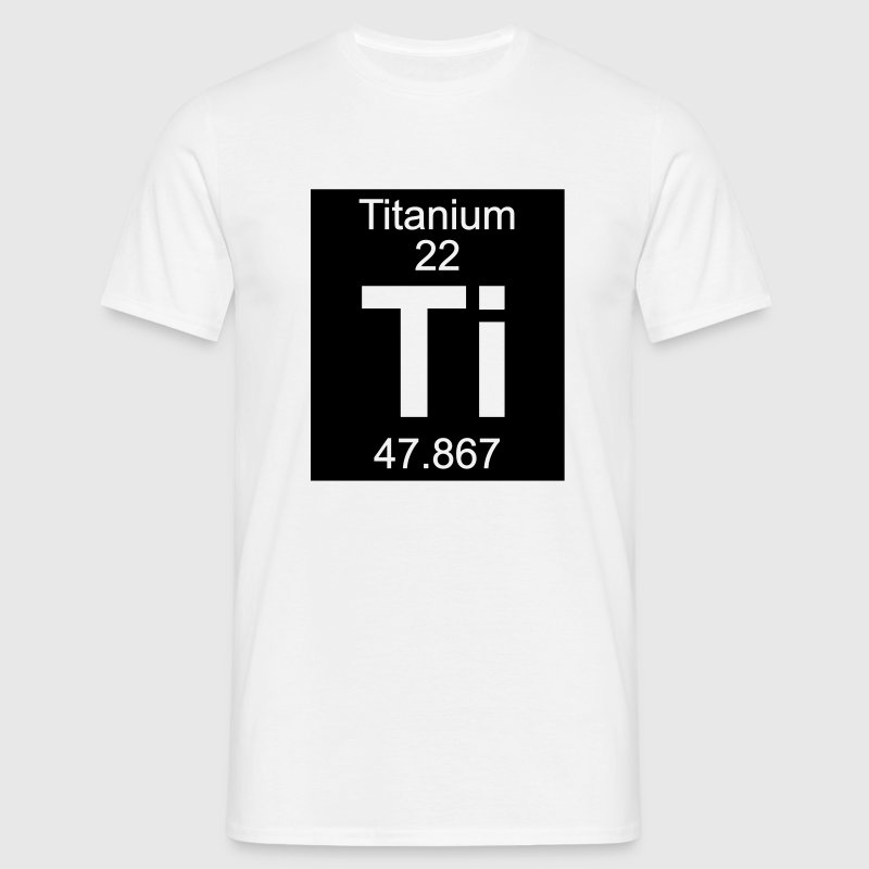 Element 22 - ti (titanium) - Inverse (Full) T-Shir - Men's T-Shirt