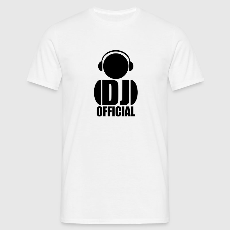 Logo Dj official T-Shirts - Men's T-Shirt