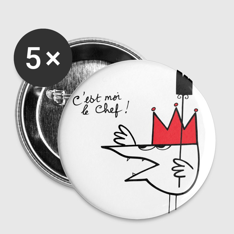 Badge Chef Shadok - Badge grand 56 mm