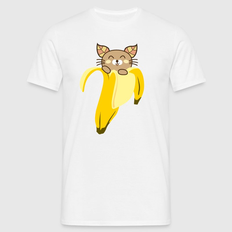 Banana Cat Men's T-Shirt - Men's T-Shirt