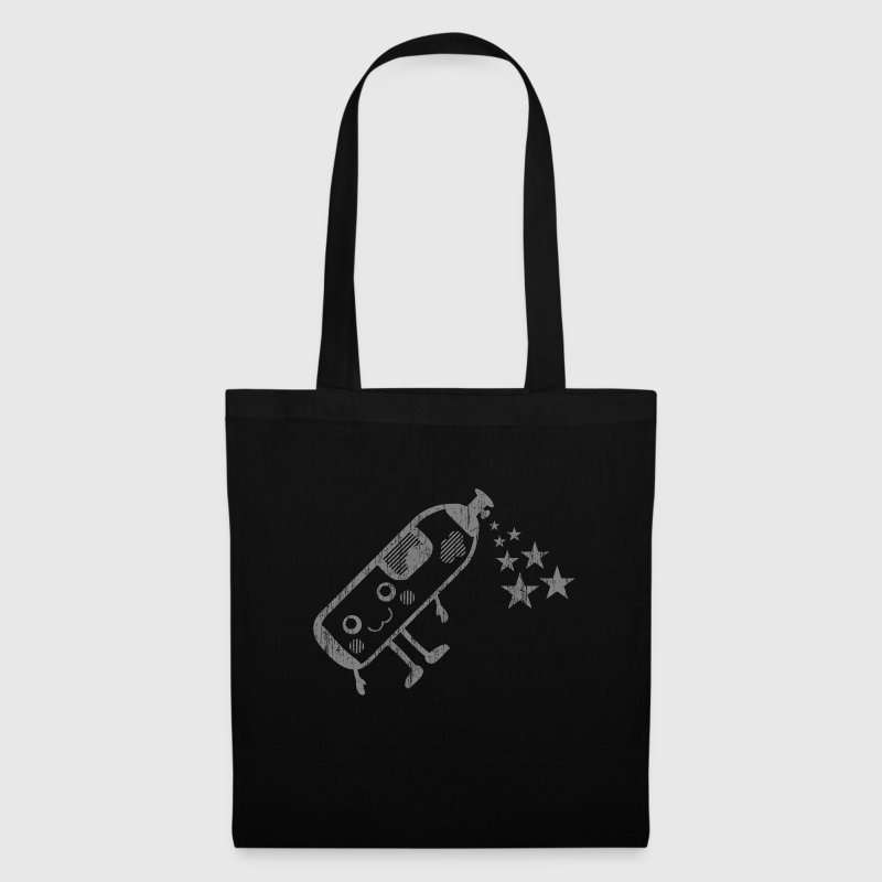 happy Gasflasche im Kawaii-Design Bags & backpacks - Tote Bag