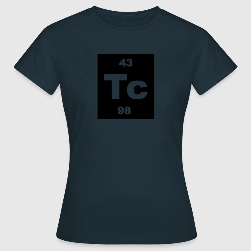 Technetium (Tc) (element 43) - Women's T-Shirt