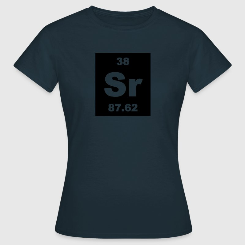 Strontium (Sr) (element 38) - Women's T-Shirt