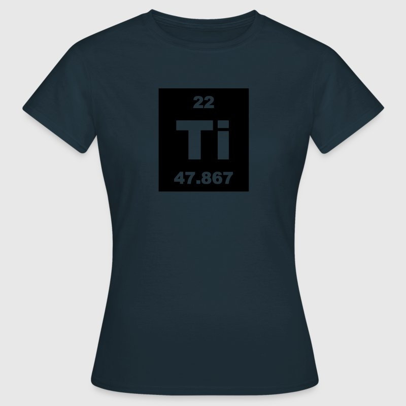 Element 22 - ti (titanium) - Short-inv T-Shirts - Women's T-Shirt