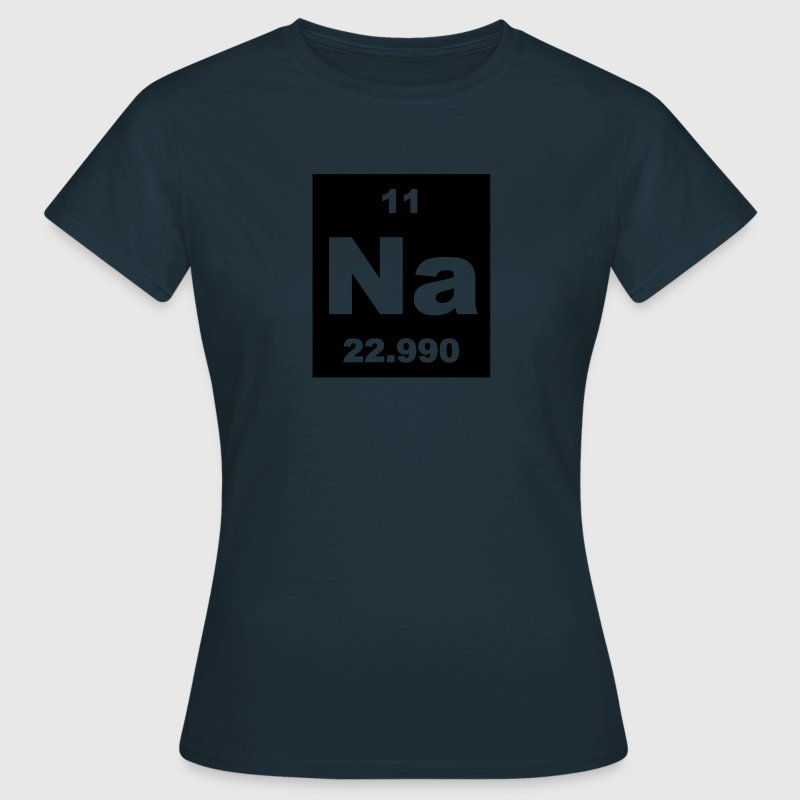 Sodium (Na) (element 11) - Women's T-Shirt