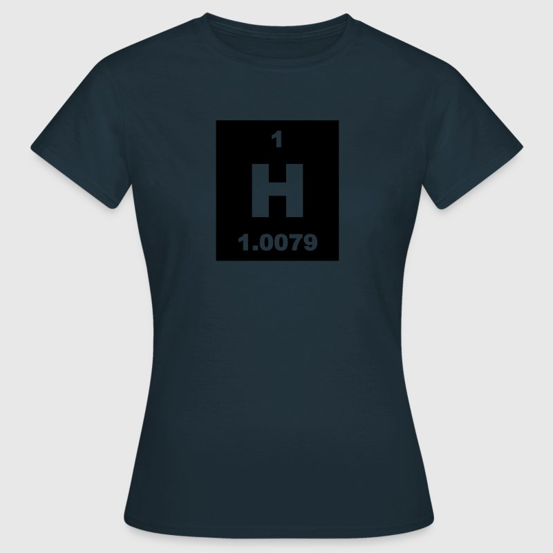 Hydrogen (H) (element 1) - Women's T-Shirt