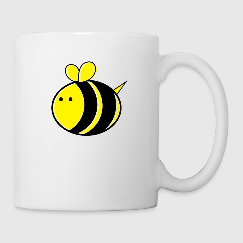 super big cute bumble bee Mugs & Drinkware - Mug