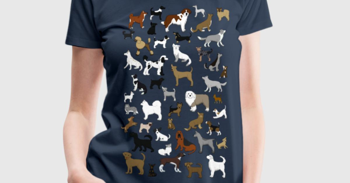 Viele hunde pixel t shirt spreadshirt for One color t shirt design inspiration