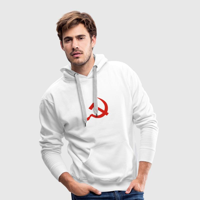 hammer and sickle / soviet union / russia Sweaters - Mannen Premium hoodie