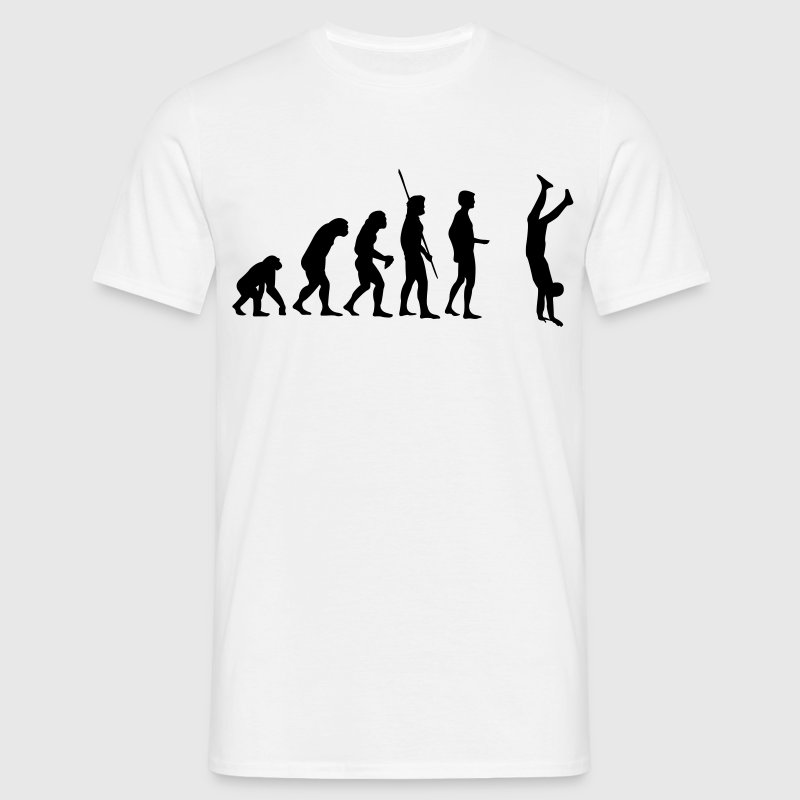 Evolution Handstand  T-Shirts - Men's T-Shirt