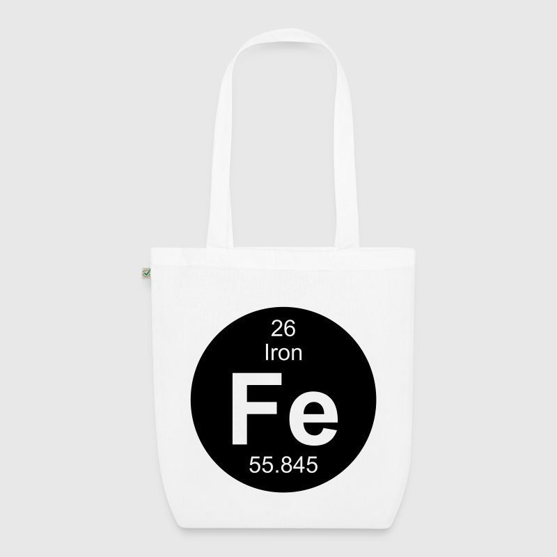 Iron (Fe) (element 26) - EarthPositive Tote Bag