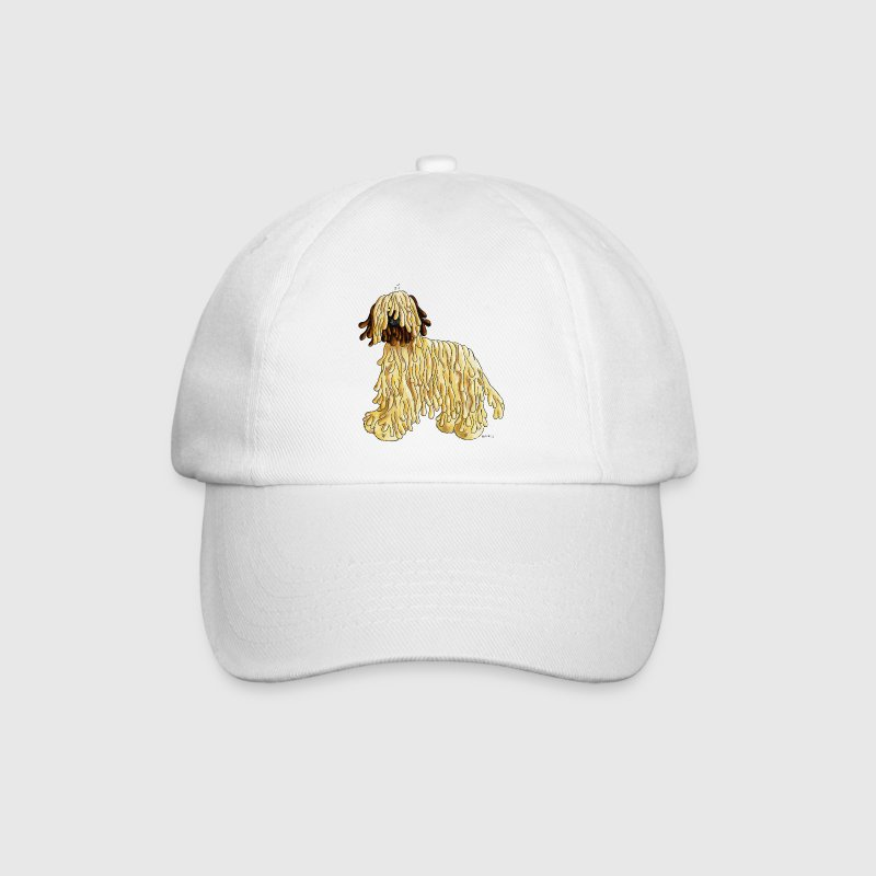 Briard - Dog - Cartoon- Breed Caps & Hats - Baseball Cap