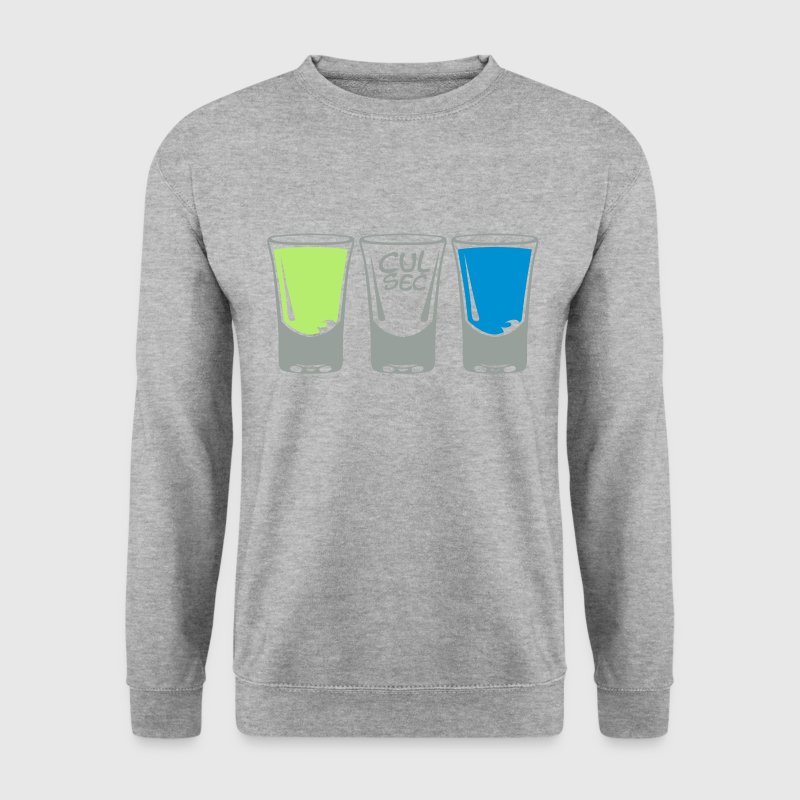 verre shooter alcool cul sec Sweat-shirts - Sweat-shirt Homme