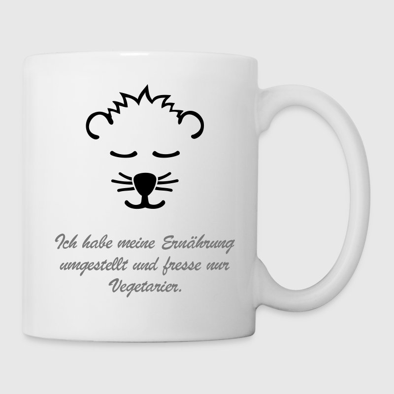 vegetarier veganer vegetarisch tasse spreadshirt. Black Bedroom Furniture Sets. Home Design Ideas
