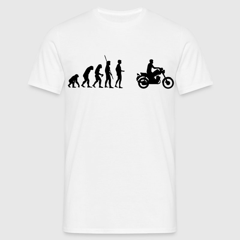 Evolution MZ ETZ motorbike  T-Shirts - Men's T-Shirt