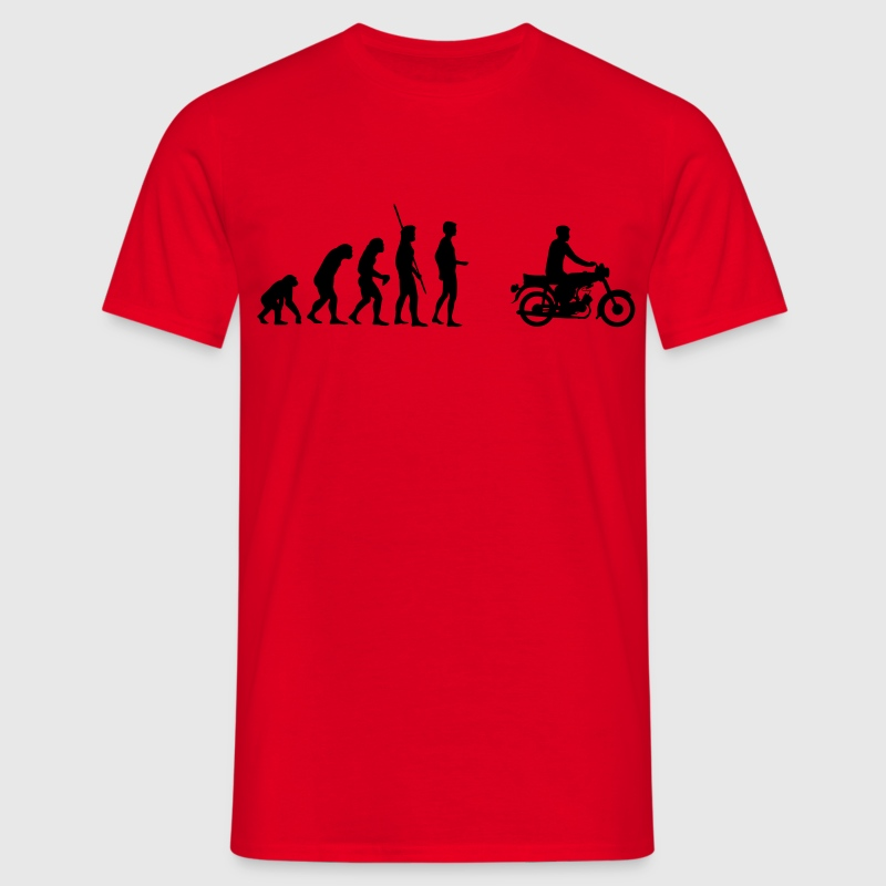 Evolution Simson Moped T-Shirts - Men's T-Shirt