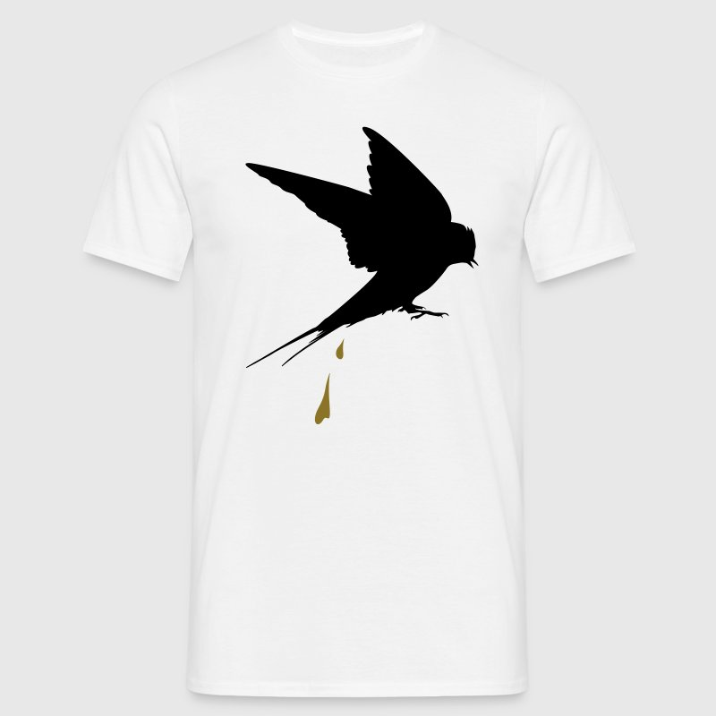 Shit end swallow  T-Shirts - Men's T-Shirt