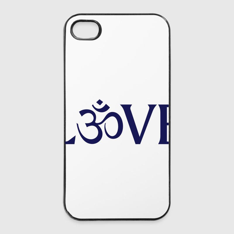 OM Zeichen Love Symbol Handy & Tablet Hüllen - iPhone 4/4s Hard Case