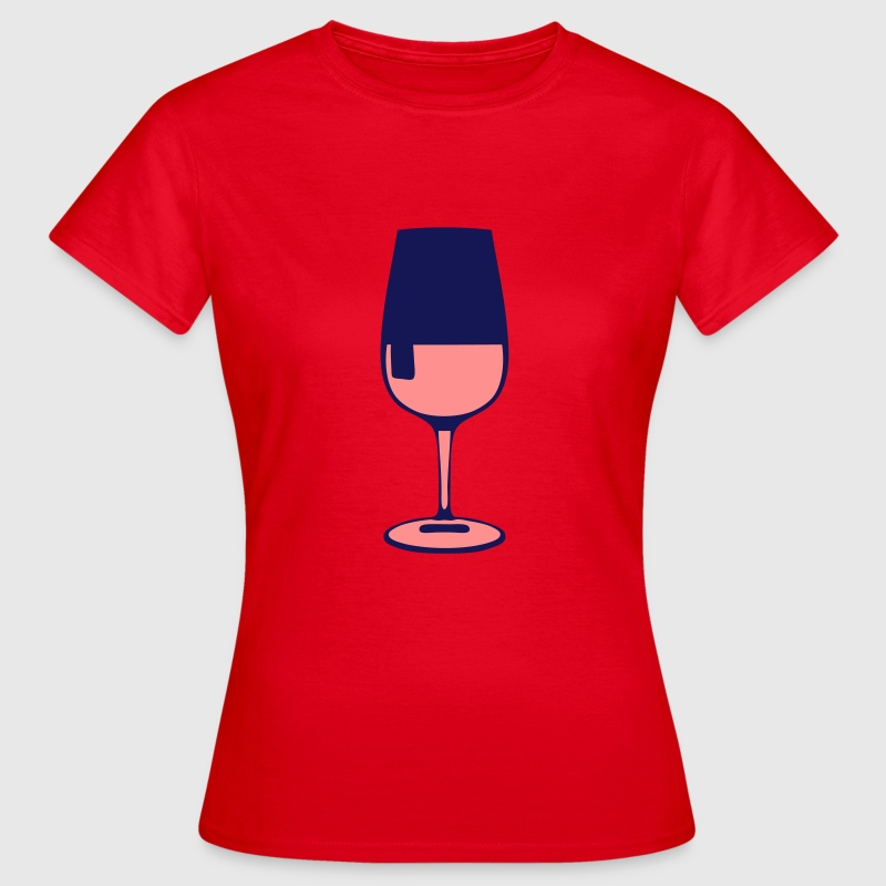 verre alcool rose drink 1007 Tee shirts - T-shirt Femme