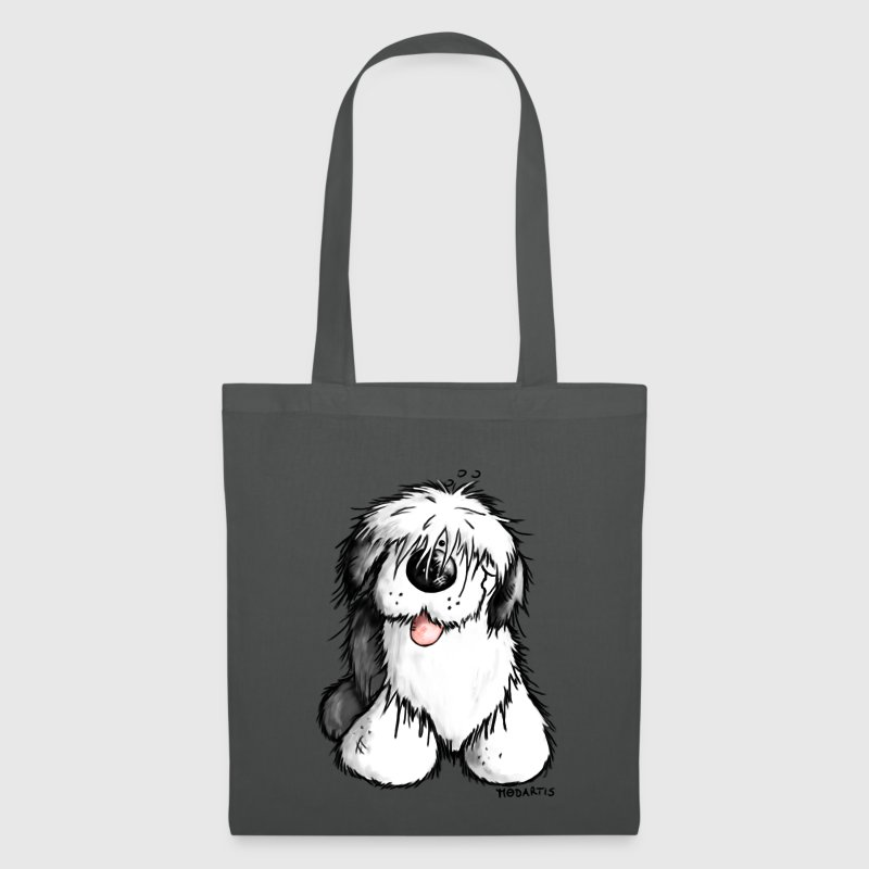 Bobbie Bobtail - Old English Sheepdog - Cartoon Bags & backpacks - Tote Bag