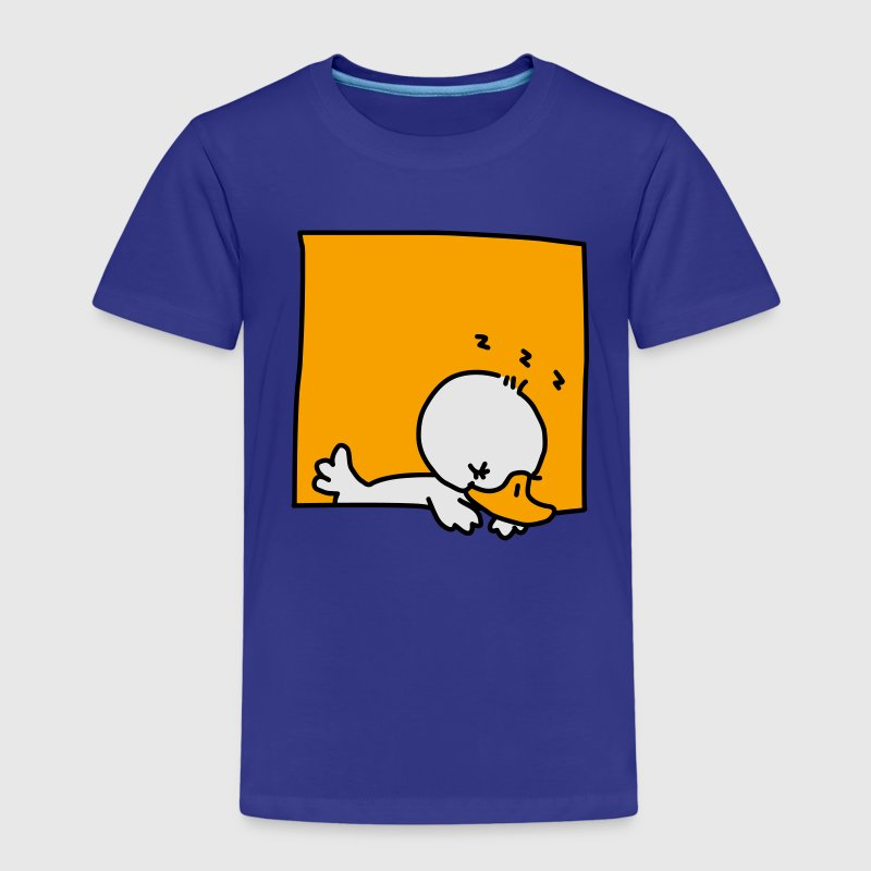 Sleepy Duckling - Kids' Premium T-Shirt