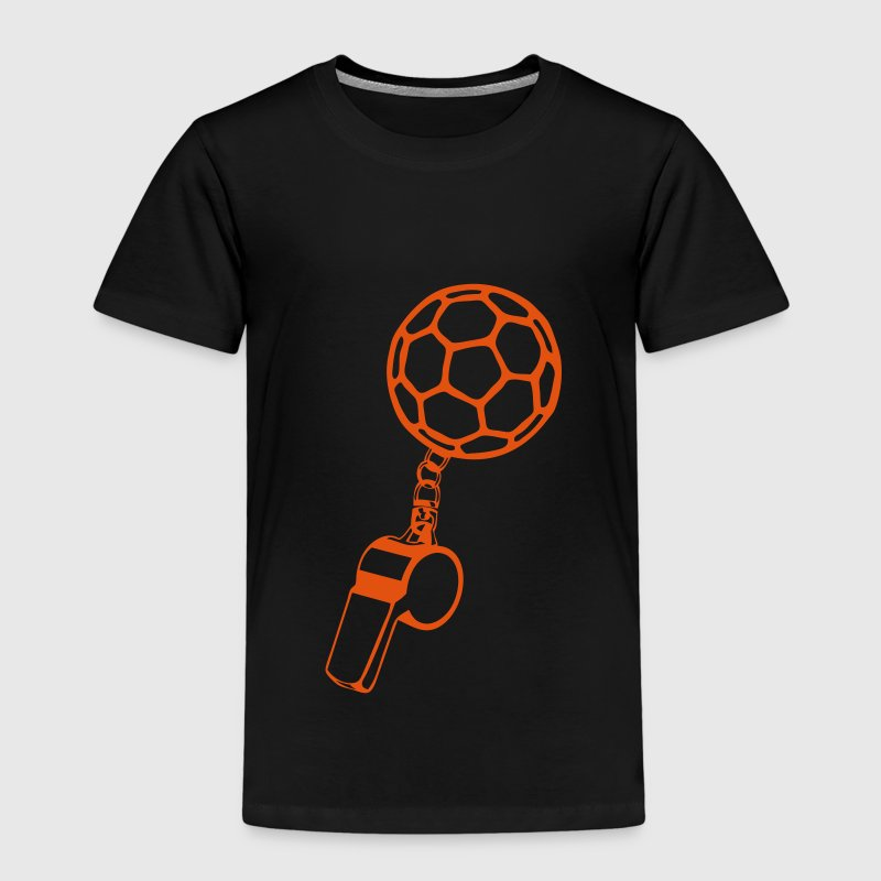 handball sports referee whistle balloon 1 - Kids' Premium T-Shirt