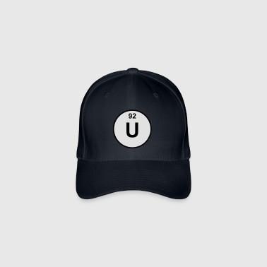 Element 92 - u (uranium) - Minimal-color Nounours - Casquette Flexfit