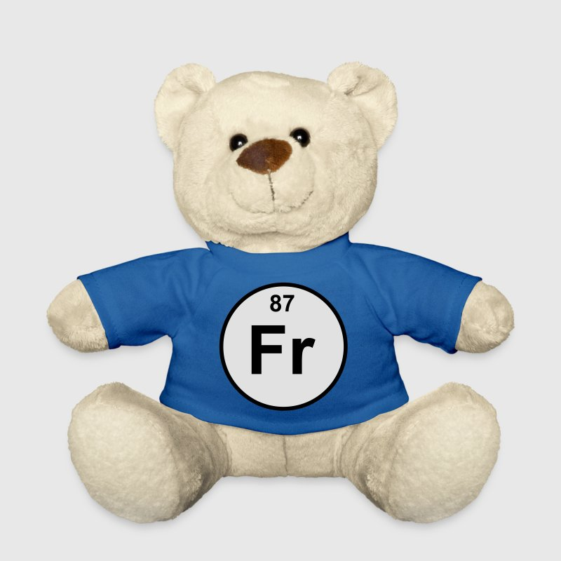 Francium (Fr) (element 87) - Teddy Bear