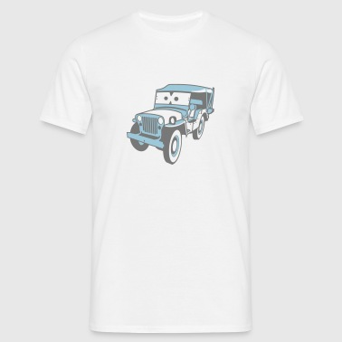 Kids Cars - altgedienter Jeep Sweats - T-shirt Homme