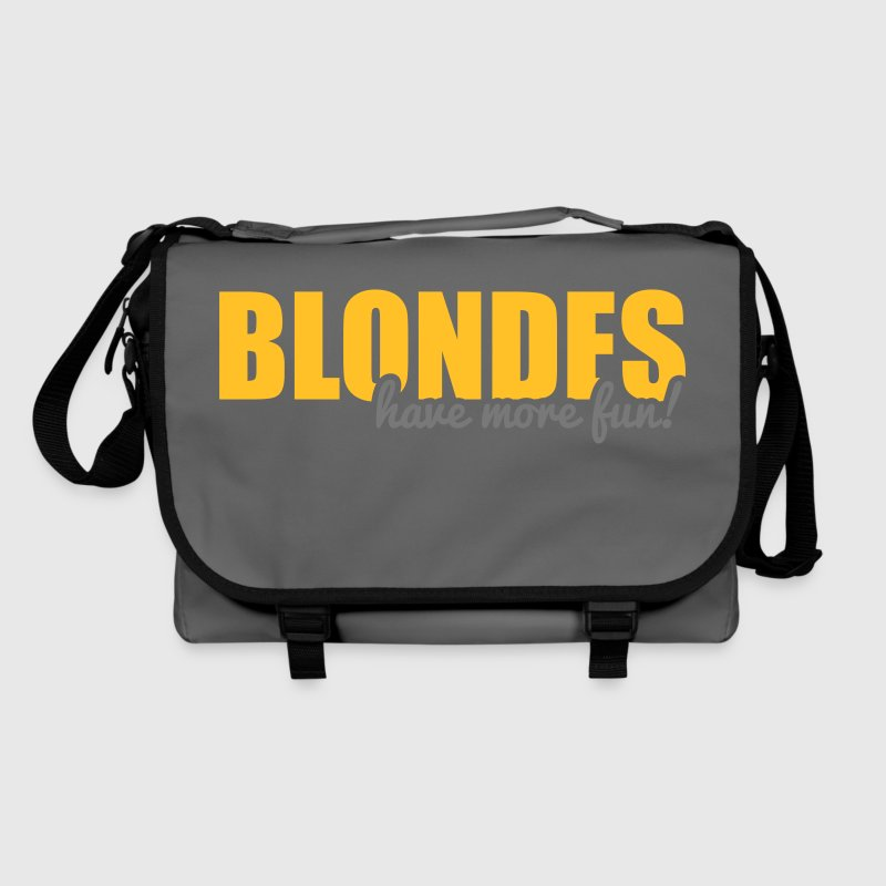 Blondes have more fun! Bags & backpacks - Shoulder Bag