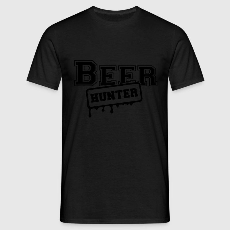 beer hunter T-Shirts - Männer T-Shirt